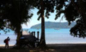 Bungus Beach
