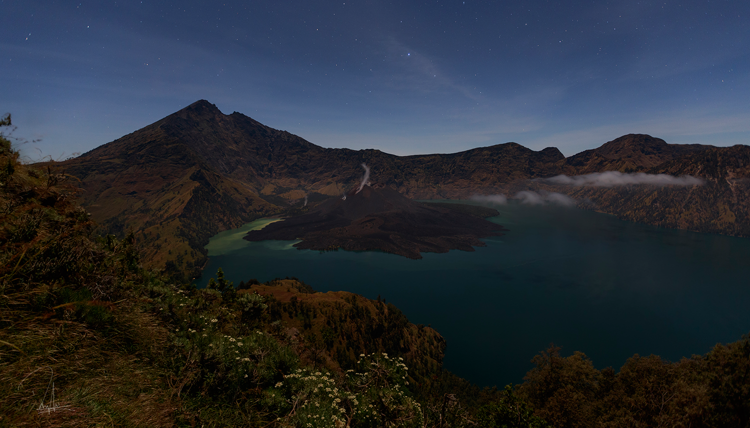 Rinjani at Night