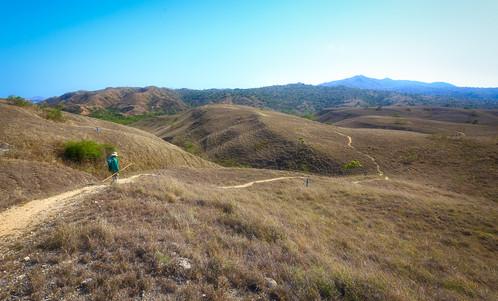 Hike at Rinca