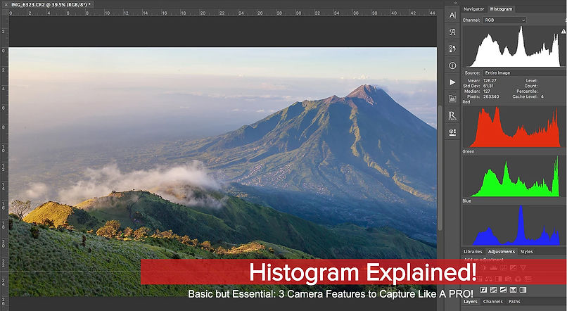 Histogram Explained: 3 Camera Features to Capture Like a PRO