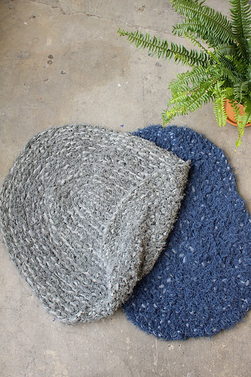 Recycled Wool Rug | Solid