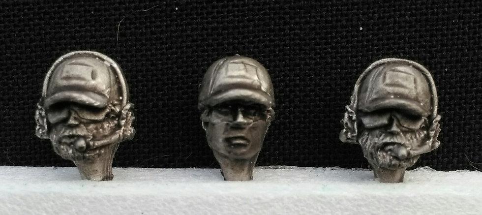 Baseball cap heads
