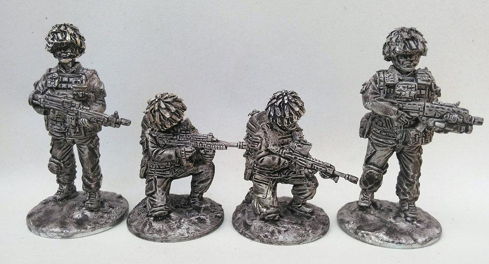 British 2 D Fire Team