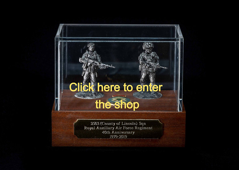 40mm Display Case Pewter