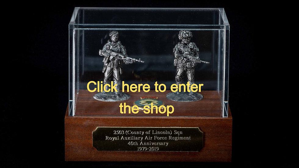 40mm Display Case Pewter