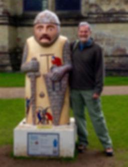 John at Salisbury Cathedral.