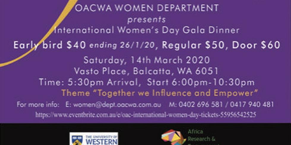 International Women's Day Gala 2020