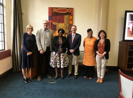 Malawi University of Science and Technology visit to UWA