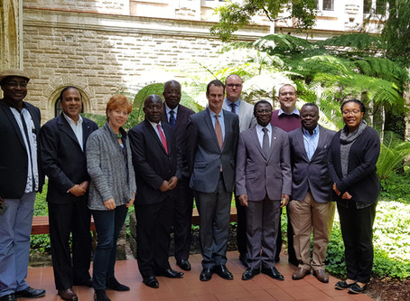 UWA hosts University of Ghana delegation