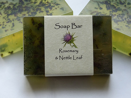Rosemary & Nettle Leaf Soap Bar
