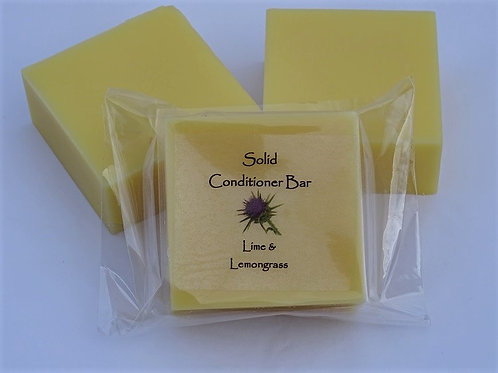 SOLID CONDITIONER BAR - LIME & LEMONGRASS