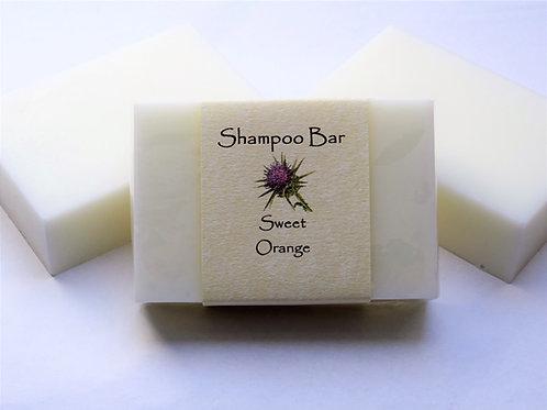 SOLID SHAMPOO BAR - SWEET ORANGE