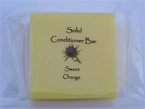 SOLID CONDITIONER BAR - SWEET ORANGE
