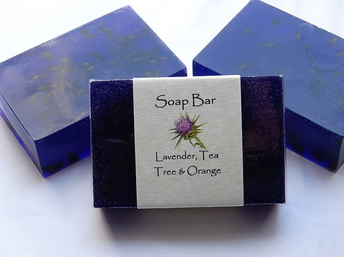 Lavender, Tea Tree & Orange Soap Bar