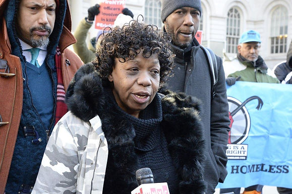 Eric Garner's mom says NYPD is blocking civilian board from proceeding with charges against cop who killed her son