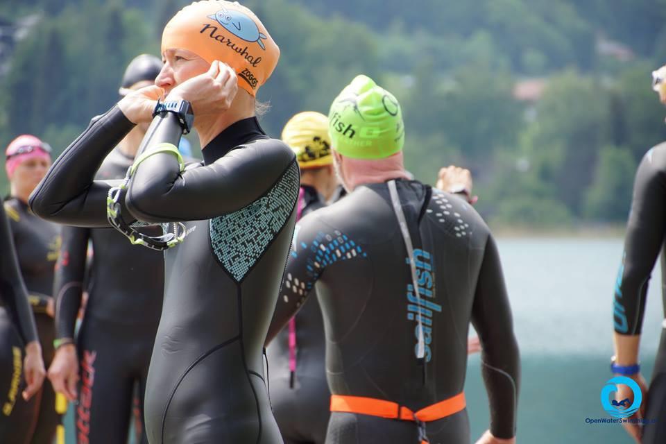 Schwimmer mit Sailfish Neopren Anzügen