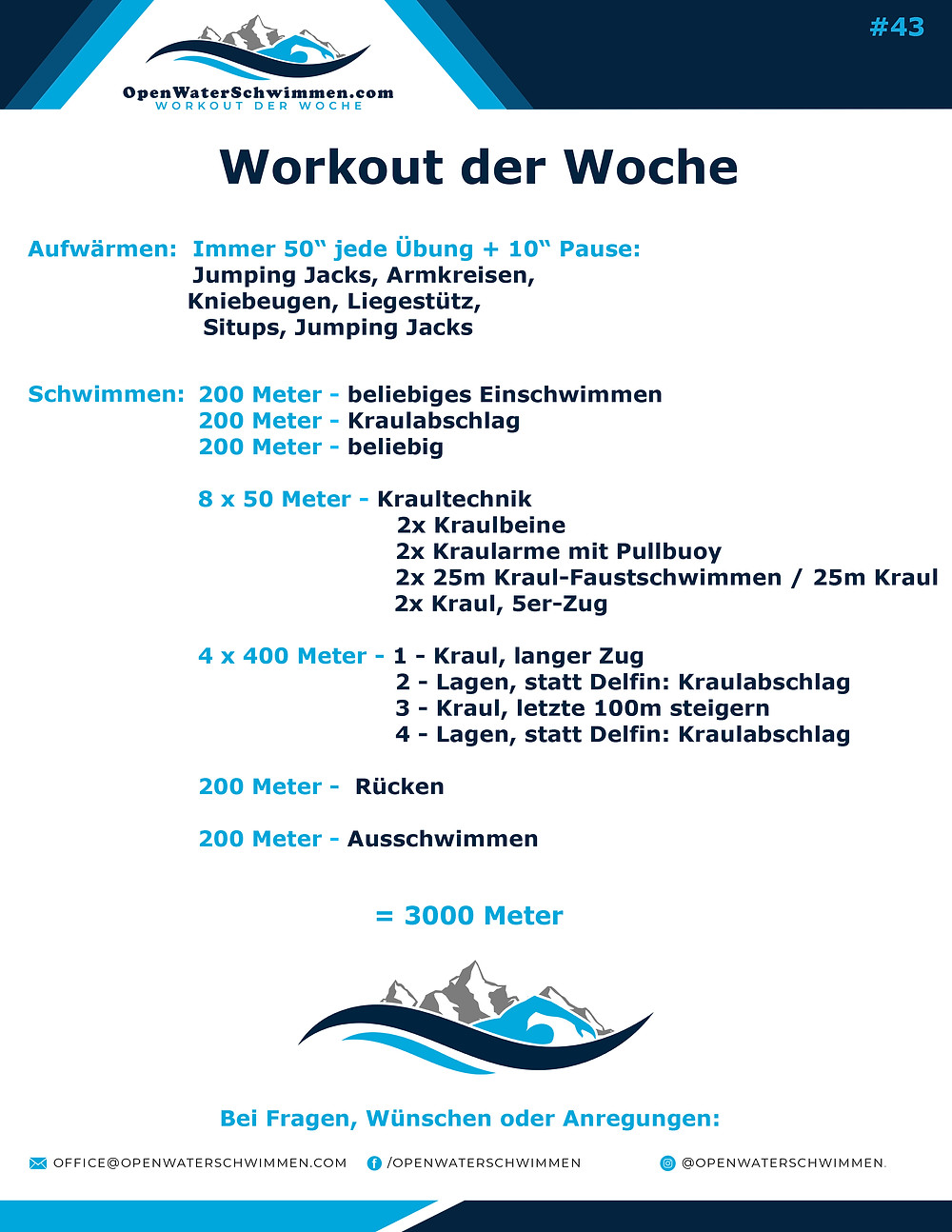 Triathlon Schwimm Training