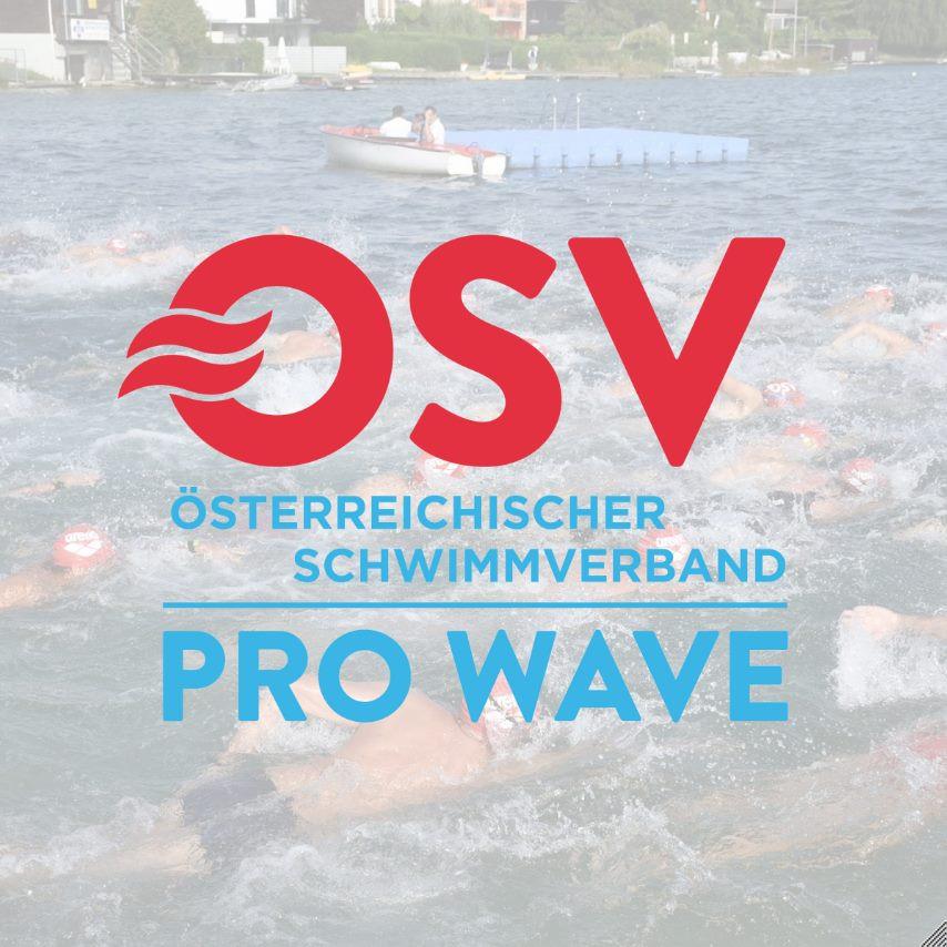 OSV - Österreichischer Schwimmverband Pro Wave Logo