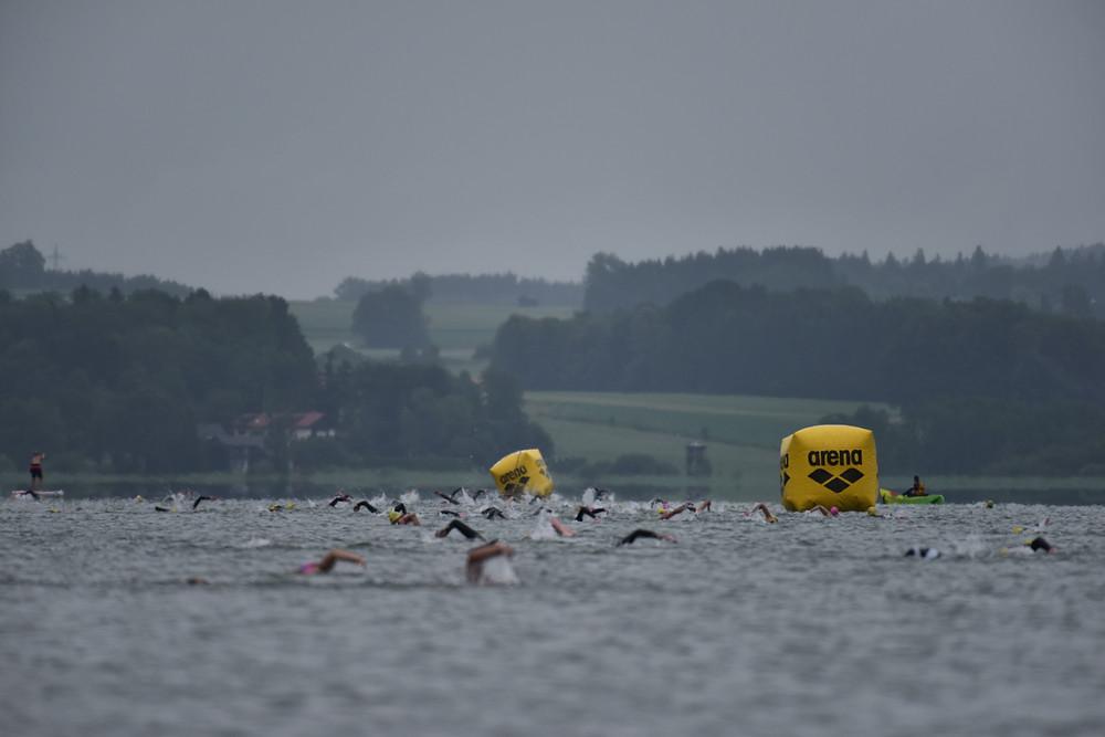 Chiemgau Thermen Langstreckenschwimmen Simssee