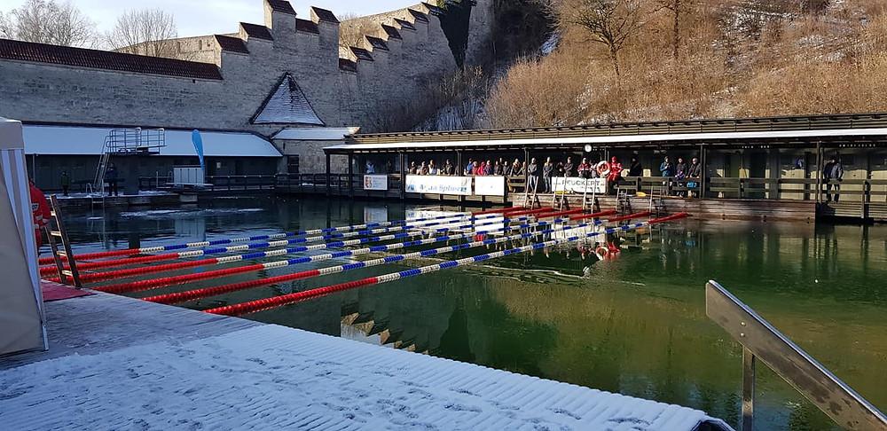 Burghausen Eisschwimm-Stadtmeisterschaften
