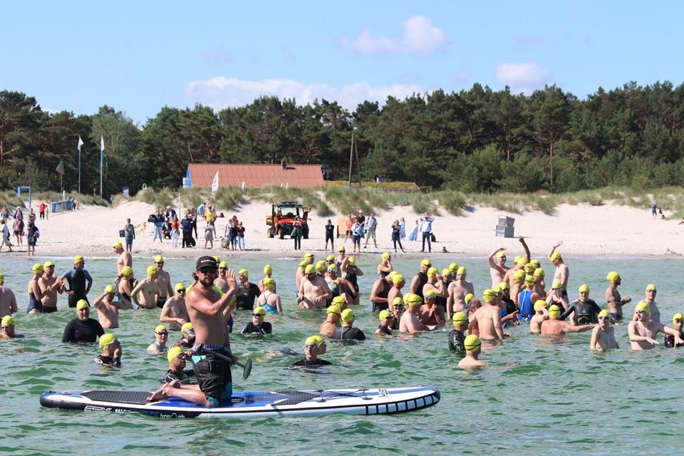 Ostseeschwimmen in Prerow