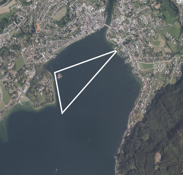 Gmundner Seecrossing Streckenfürhung 3000 Meter