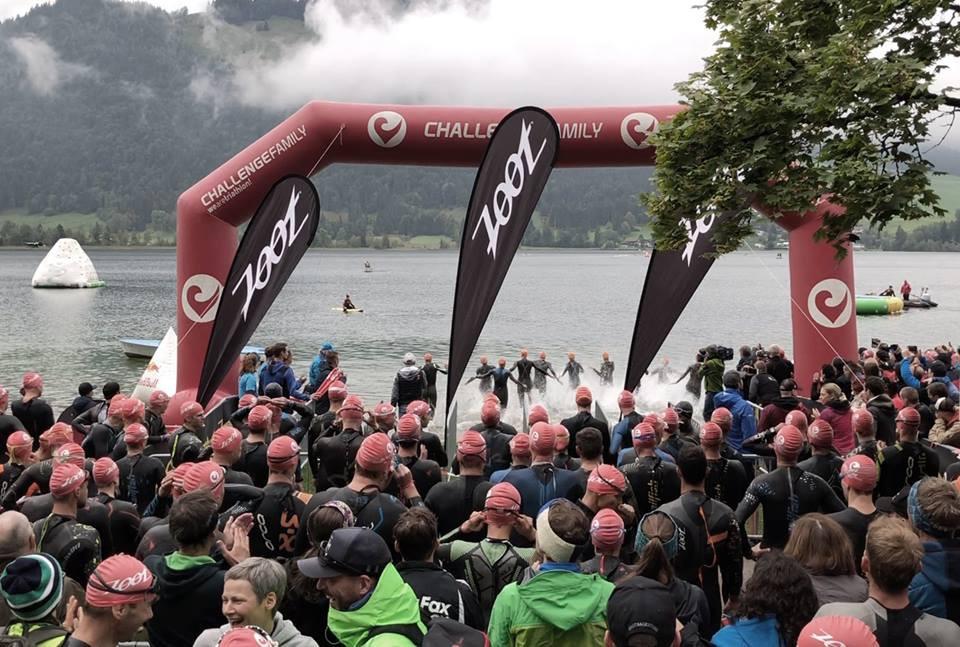 Challenge Swim - Walchsee Start