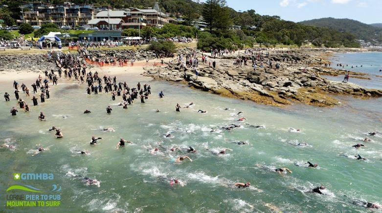 Lorne Pier to Pub Swim