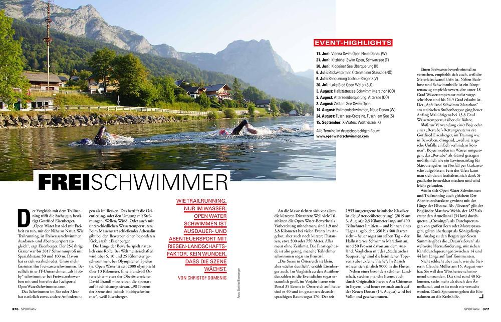 SPORTaktiv und OpenWaterSchwimmen.com