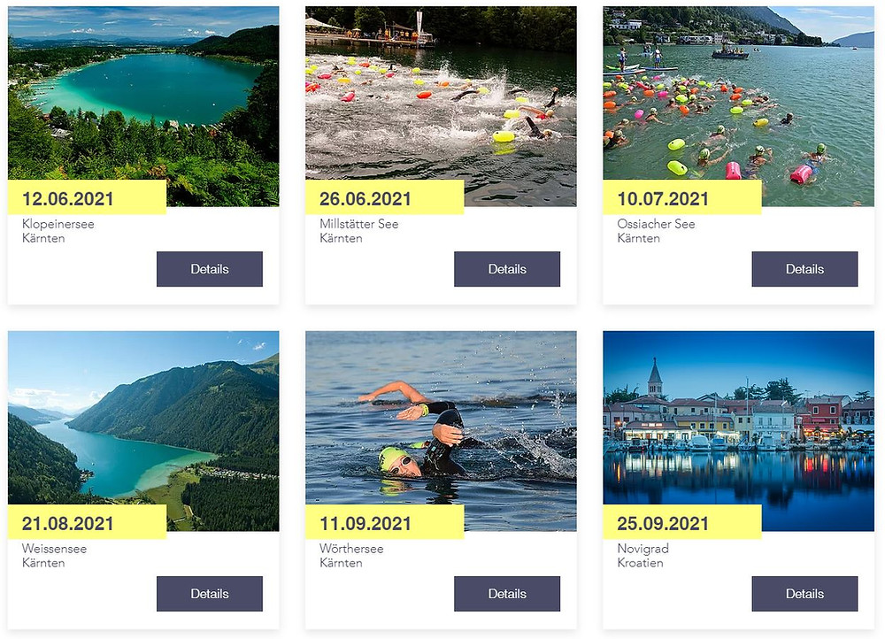 Alpen Adria Swim Cup 2021 Events