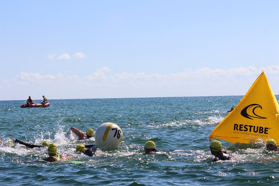 4. preower Ostseeschwimmen Sportstrand Prerow