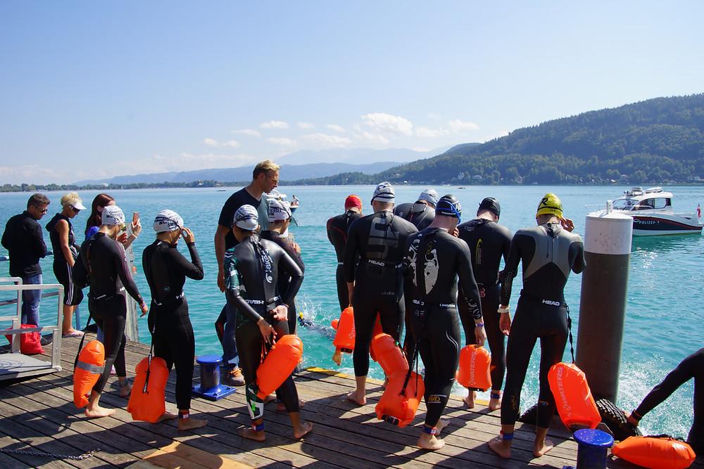 Neopren Testschwimmen Österreich 2019