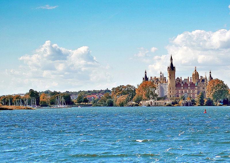 Schweriner See und Schweriner Schloss