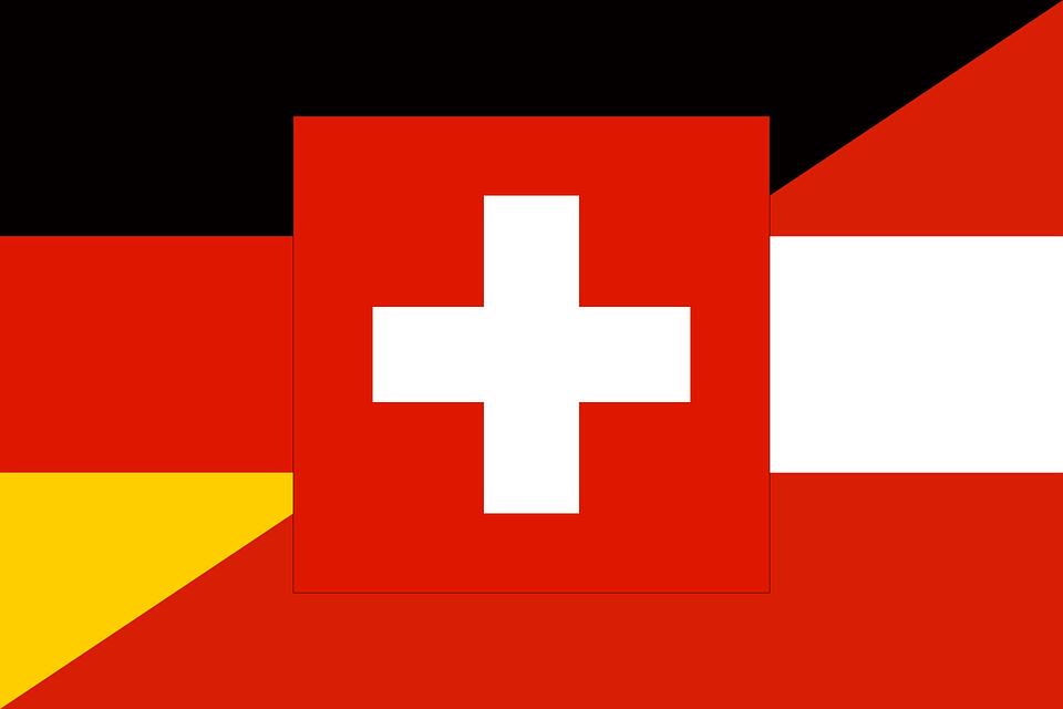 Dach Region Fahne