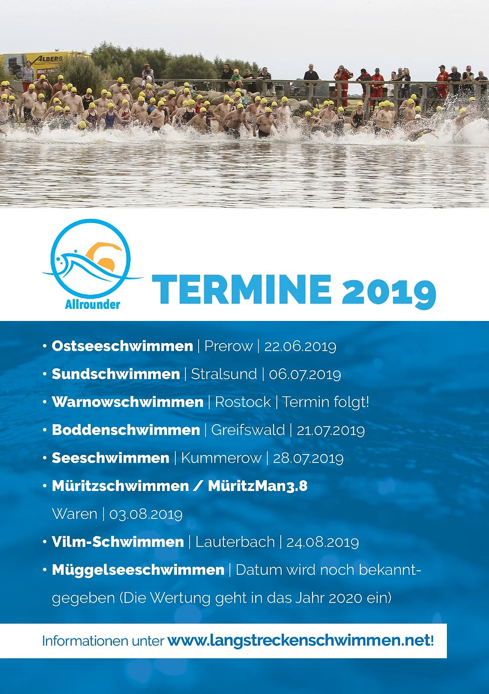 Liste der Termine MV Allrounder Cup 2019