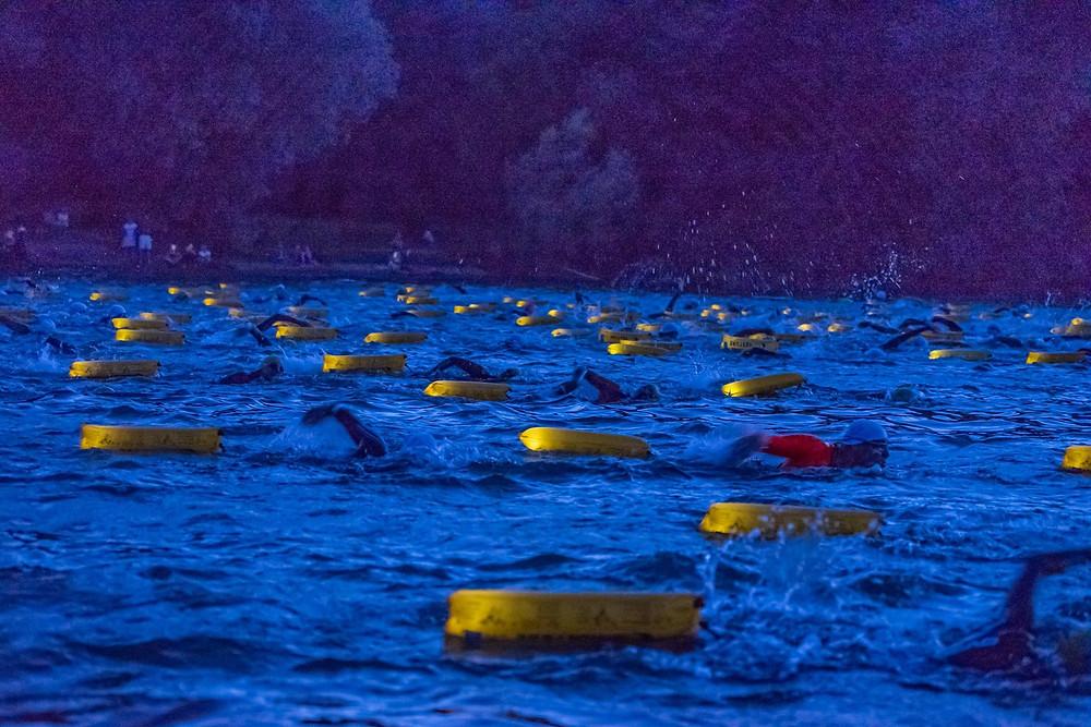 Vollmondschwimmen im Chiemsee