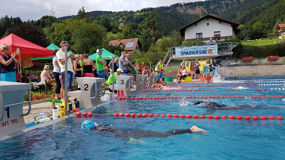 Das Happy Hippo 6h Benefizschwimmen in Liezen