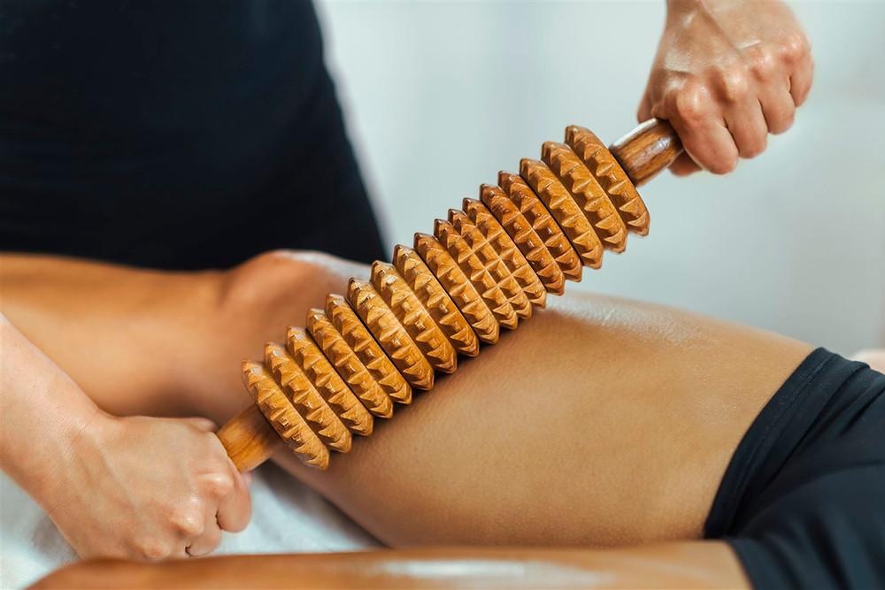 Massage Roller Oberschenkel Erholung