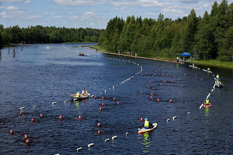 Vansbrosimningen Open Water Event in Sweden