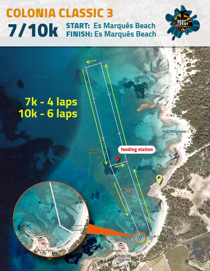 BEST Fest Mallorca 10 Kilometer route