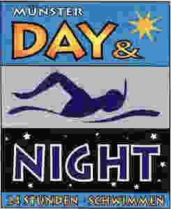 Münster Day and Night 24 Stunden Schwimmen Logo