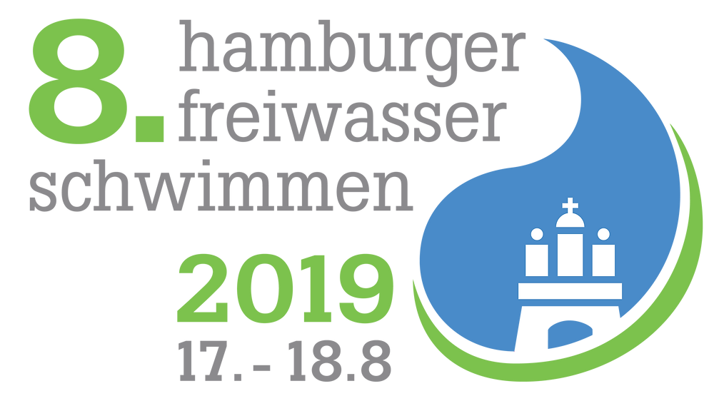 Logo Hamburger Freiwasser Schwimmen 2019