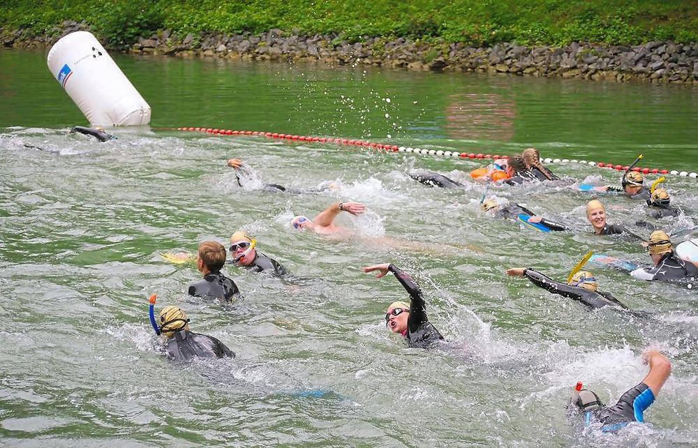 Start beim Münster Day & Night 24 Stunden Schwimmen