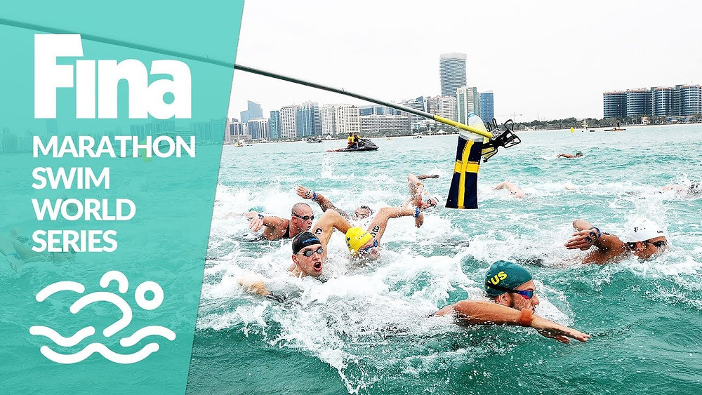FINA Marathon Swim World Series banner