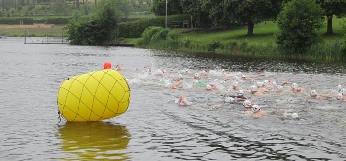 10. Langstreckenschwimmen im Stausee Losheim