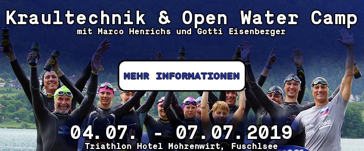 Kraultechnik und Open Water Camp mit marco henrichs und Gottfried Eisenberger