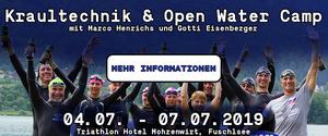 Kraultechnik und Open Water Camp mit marco henricghs und Gottfried Eisenberger