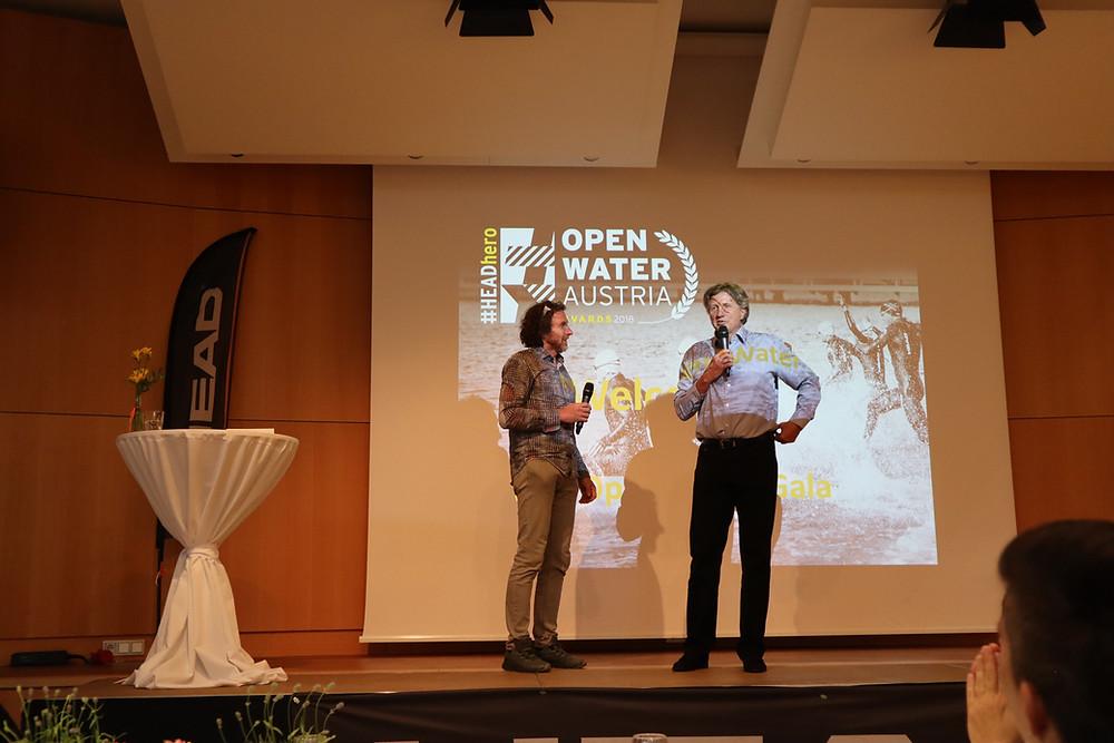 Veranstalter der HEADhero Gala Andreas Sachs (rechts)