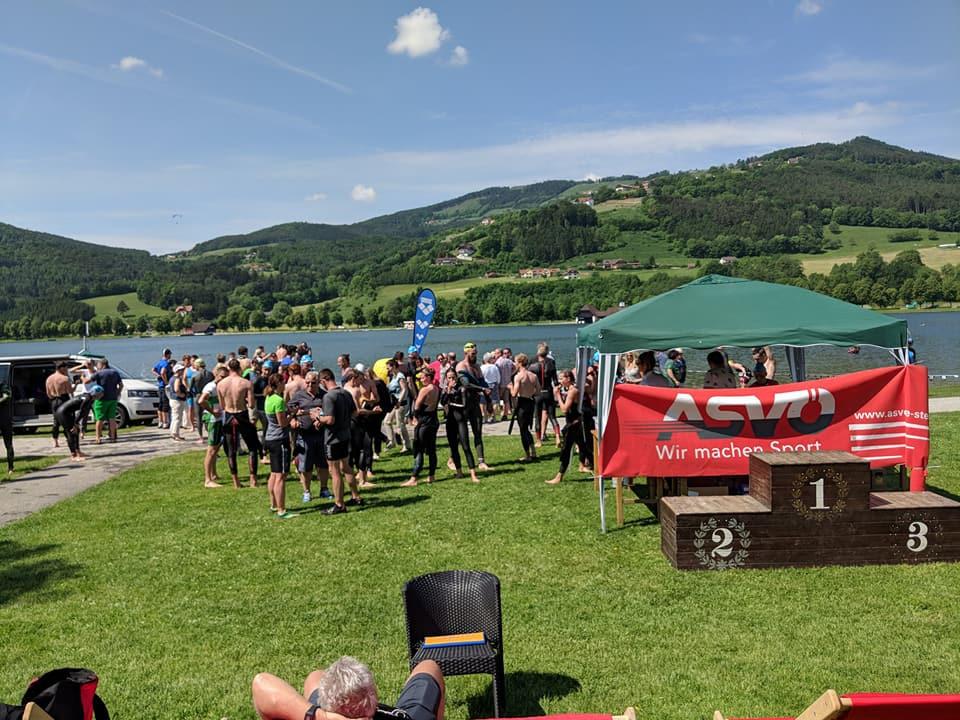 Apfelland Schwimm-Marathon im Stubenbergsee