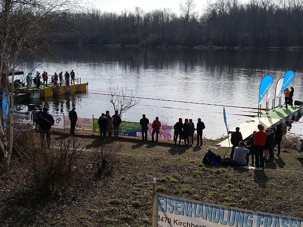Eisschwimm Meisterschaften Altenwörth Ice Cup Austria